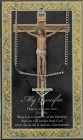 Crucifix Medal in Pewter with Bi-Fold Prayer Card