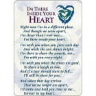 Inside Your Heart  Prayer Cards  - pack of 25