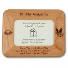 "Maple Wood ""Godfather"" Photo Frame"