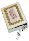 First Communion Musical Keepsake Box - Girl
