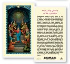 Our Lady Queen of The Apostles Laminated Prayer Cards 25 Pack