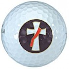 Golf Balls with Deacon's Cross - Set of 3