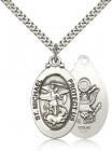 Men's St. Michael Army Medal