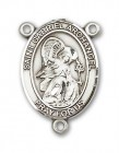 St. Gabriel the Archangel Rosary Centerpiece Sterling Silver or Pewter