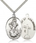 Large Our Lady of Medugorje Medal