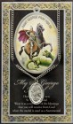 St. George Medal in Pewter with Bi-Fold Prayer Card