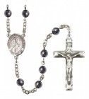 Men's St. Anthony Mary Claret Silver Plated Rosary