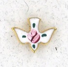 Cloisonne Dove Lapel Pin (12 pieces per order)