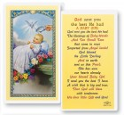 God Send You The Best for Girl Laminated Prayer Cards 25 Pack