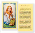Oracion A Santa Dymphna Laminated Spanish Prayer Cards 25 Pack