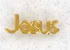 Jesus Lapel Pin (12 pieces per order)