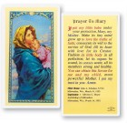 Prayer To Mary Madonna of the Street Laminated Prayer Cards 25 Pack