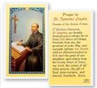 St. Ignatius Loyola Laminated Prayer Cards 25 Pack