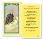 St. Camillus Laminated Prayer Cards 25 Pack