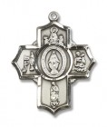 Our Lady Apparitions 5 Way Pendant