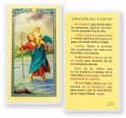 Oracion Del Chofer Laminated Spanish Prayer Cards 25 Pack