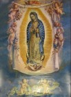 Our Lady of Guadalupe with Angels Large Poster