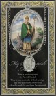 St. Patrick Medal in Pewter with Bi-Fold Prayer Card