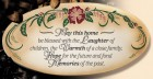 May This Home Be Blessed Wall Plaque