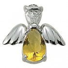 Angel Pin- November Birthstone