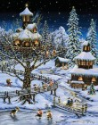 Advent Calendar Woodland Holiday
