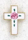 Cloisonne Cross Lapel Pin (12 pieces per order)
