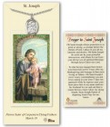 St. Joseph Medal in Pewter with Prayer Card