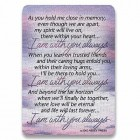Memorial Prayer Card - pack of 25