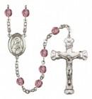 Women's St. Rita of Cascia Birthstone Rosary