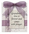 Grandma's Love Is Wall Plaque