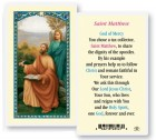 Saint Matthew Laminated Prayer Cards 25 Pack