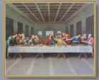 The Last Supper Gold Framed Print