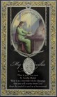 St. Cecilia Medal in Pewter with Bi-Fold Prayer Card