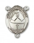 St. Katharine Drexel Rosary Centerpiece Sterling Silver or Pewter