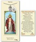 St. Michael the Archangel Marines Medal in Pewter with Prayer Card