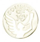 A Joyful Sound Angel Lapel Pin