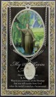 St. Kevin Medal in Pewter with BiFold Prayer Card