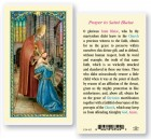 St. Blaise Laminated Prayer Cards 25 Pack