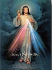 "Divine Mercy Large Poster - 19""W x 27""H"