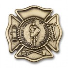 St. Florian Patron Saint of Firefighters Visor Clip