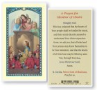 Prayer For Church Choir Laminated Prayer Cards 25 Pack