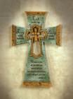 Faith Looks Up Wall Cross