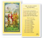 The Boy Scout Oath of Promise Laminated Prayer Cards 25 Pack