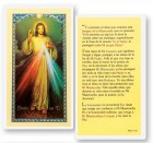 A Nuestra Senor De La Misericordia Laminated Spanish Prayer Cards 25 Pack
