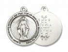 Women's Simple Round Miraculous Medal