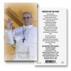 Pope Francis Prayer Cards Set of 100