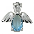 Angel Pin- December Birthstone