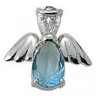 Angel Pin- December Birthstone