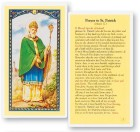 Prayer To St. Patrick Laminated Prayer Cards 25 Pack
