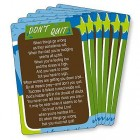 Don't Quit Prayer Cards - pack of 25